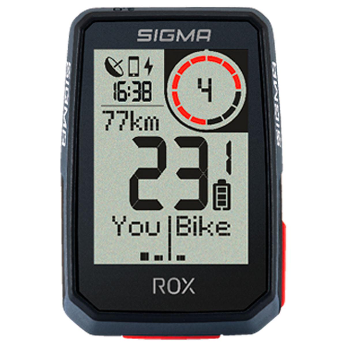 Polkupyörän mittari SIGMA, ROX 2.0 GPS, Musta