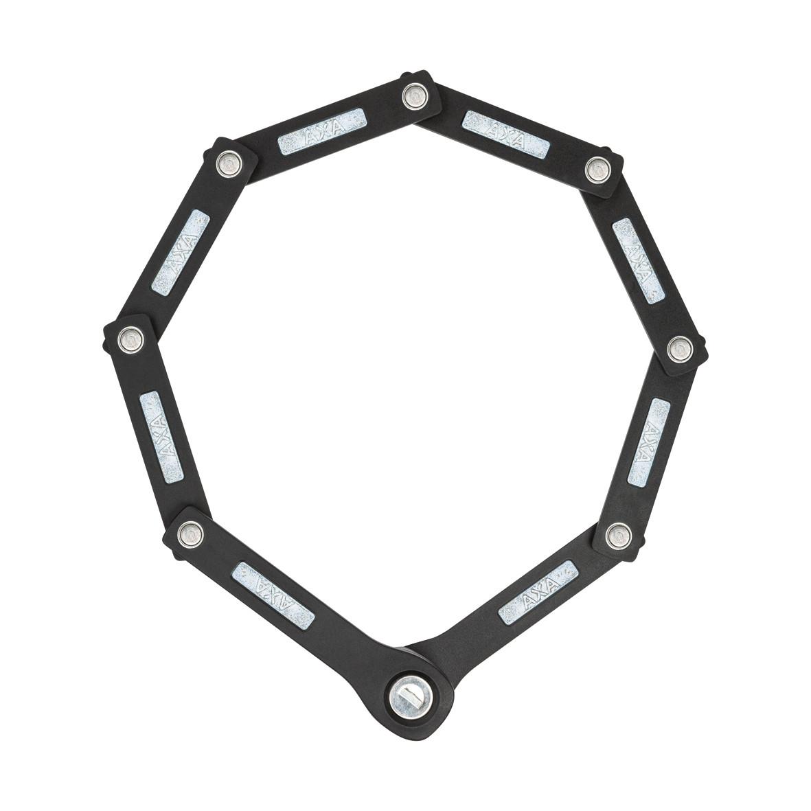 Linkkulukko AXA Fold Lite 80, taitettava pituus 80cm, musta