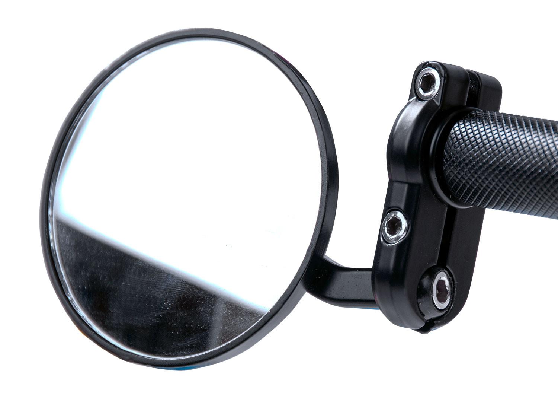 Peilisarja Forte: Tangonpäähän kupera, musta