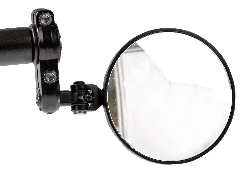 Peilisarja Forte: Tangonpäähän kääntyvä kupera, musta
