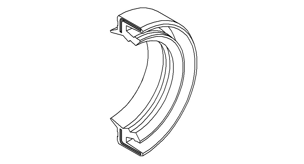 Etuhaarukan öljytiiviste 2 kpl, ARI 38x50x7 - 8 TCL: MARZOCCHI 38mm keulaan