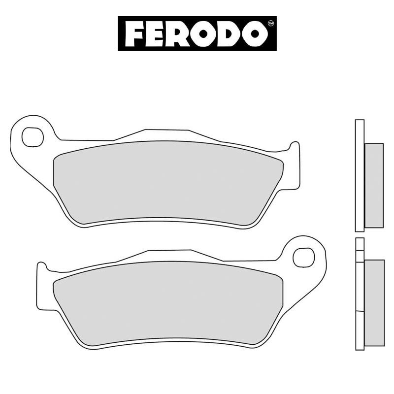 Jarrupalat FERODO Sinter Grip taakse: BMW, Moto Guzzi (1994->)
