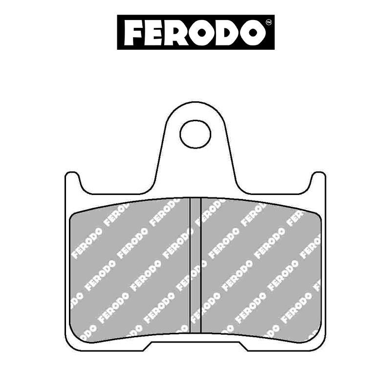 Jarrupala FERODO Platinum taakse: HD, Honda, Kawasaki, Suzuki, Yamaha