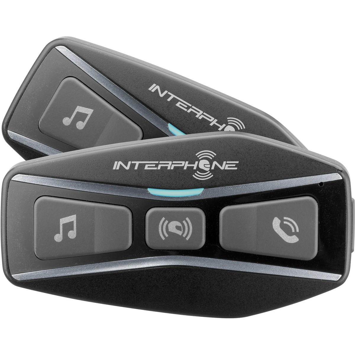 INTERPHONE U-Com 4 tupla pack, Kypäräpuhelin
