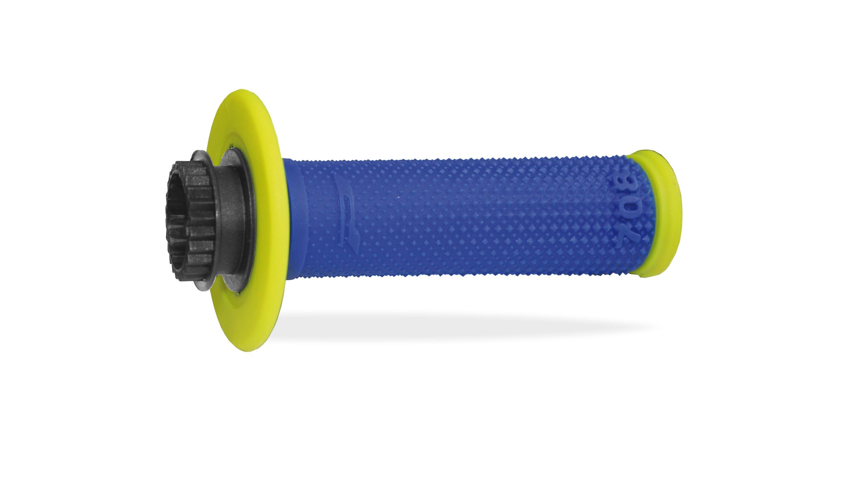 Kädensija/pulttilukko PROGRIP 708, fluorikeltainen/sininen sis.kaasukapula