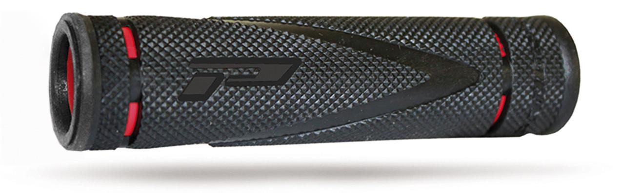 Kädensija PROGRIP 838, punainen/musta, 125 mm, 22/22mm