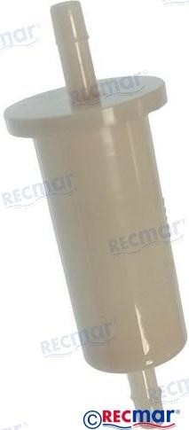 "Polttoainesuodatin Yamaha F9.9-F40 Hp, 1/4""(6mm) 65W-24251-00"