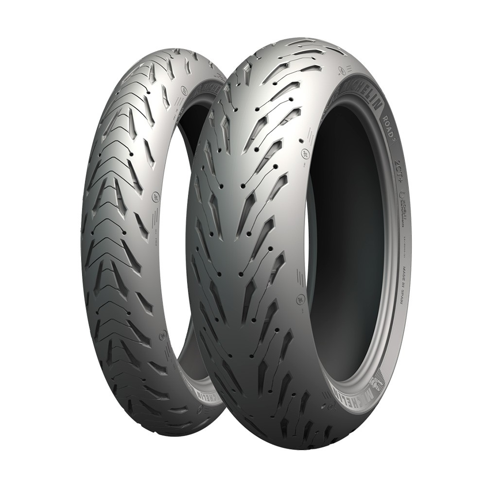 190/55-17 ZR 75W, MICHELIN Road 5, Taka TL