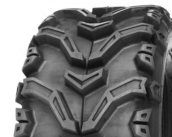 24x8-12 6pr DELI ATV-ulkorengas SG-789, TL