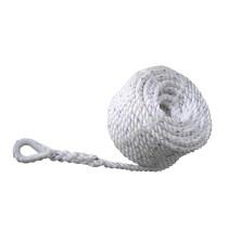 Ankkuriköysi nylon kousilla, polyester, 14 x 40m (2900 kg), valkoinen