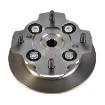 Jarrulevy+napa: JDM Titane 1,2,3, Microcar Virgo 1-2-3 D.170 mm