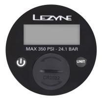 "Digitaalinen painemittari LEZYNE jalkapumppuihin 2,5"", max. 24 bar (350 psi)"