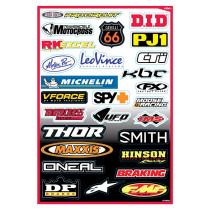FX Factory Effex sponsor sticker KIT B, tarrasarja