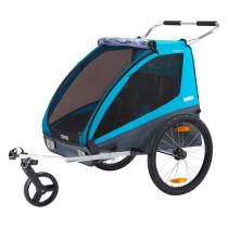 Lastenkuljetusperäkärry THULE Coaster XT, 2019, sininen