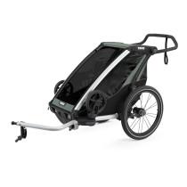 Lastenkuljetusperäkärry THULE Chariot Lite 1, Agave