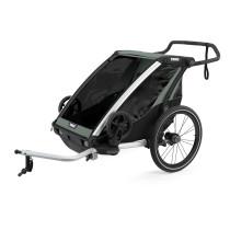 Lastenkuljetusperäkärry THULE Chariot Lite 2, Agave