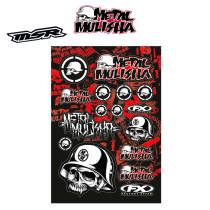 FX Factory effex Metal Mulisha Sticker Kit 1, tarrasarja