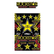 FX Factory effex Rockstar Energy Sticker Sheet, tarrasarja