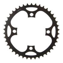 Ketjuratas E-bike, 46h, BCD104, teräs, musta