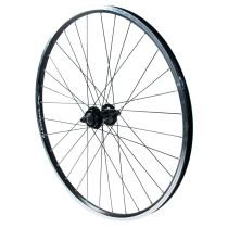 """Etupyörä 28"""" 19-622 XC-Disc, Alex X 2000 32r, musta, holkitettu, koneistettu jar"""