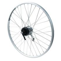 """Takapyörä 28"""" 18-622 NEXUS 7v. Alex ACE 17, 2-pohja, alumiini"""