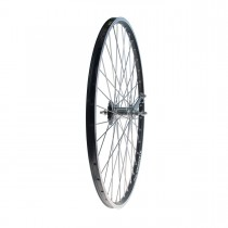 "Takapyörä 28"" 19-622 SHIMANO 1v, Alex X-2000, 2-pohja, alumiini, musta"