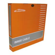 Vaihdevaijeri ALLIGATOR 1.2x2000mm, RST, hiottu, esivenytetty, 100kpl/ltk