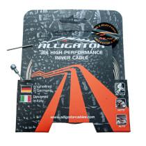 Jarruvaijeri ALLIGATOR Superior Shine 31- säikeinen, 1.5mm x 1700mm. ( RST/hiott