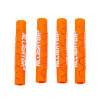 Vaijerinkuoren suoja ALLIGATOR Sahalaita, vaihdevaijeriin 4 mm, 4kpl/pkt, oranss
