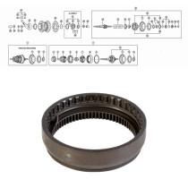 SHIMANO NEXUS 7-V (SG-7C25/30), hammasrengas täyd. 1