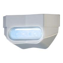 Rekisterivalo FORTE: LED, kirkas CE hyväksytty, alumiini runko hopea