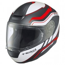 HELD H-R2 Ride kypärä, musta/valko/puna