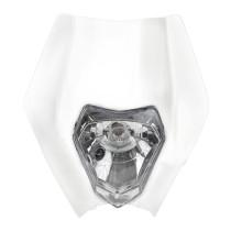 Valomaski KTM/universal valkoinen Forte