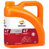 REPSOL Moto Racing 4T 10W50, 4 litraa, täyssynteettinen