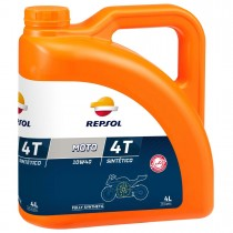 REPSOL Moto Sintetico 4T 10W40, 4 litraa, täyssynteettinen