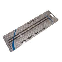 4,0 mm pyöröviila ARCHER: 2 kpl paketissa