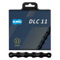 Ketju 11-v KMC DLC11, Black, 118L