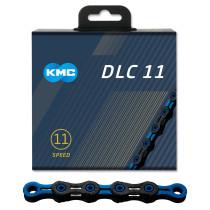 Ketju 11-v KMC DLC11, Black/Blue, 118L