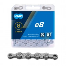 """Ketju 8-v KMC e8 EPT, 1/2 x 3/32"""", E-Bike, 122L"""