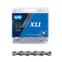 "Ketju 11-v KMC X11 Grey , 1/2 x 11/128"", 118L"