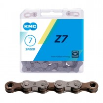 "Ketju 6/7-v KMC Z7 Grey/Brown, 1/2 x 3/32"", 114L"