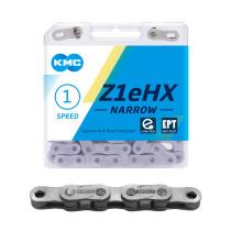 """Ketju 1-v KMC Z1eHX Narrow EPT, 1/2 x 3/32"""", E-Bike, 128L"""