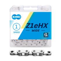 """Ketju 1-v KMC Z1eHX Wide Silver, 1/2 x 1/8"""", 112L"""