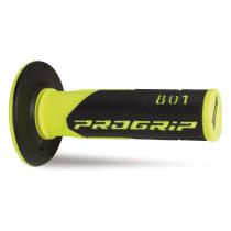 Kädensija PROGRIP 801, fluorikeltainen/musta, 22/25mm