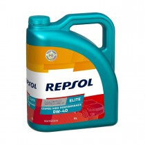 REPSOL Elite Cosmos 4T 0W40 High Performance, 5 Litra