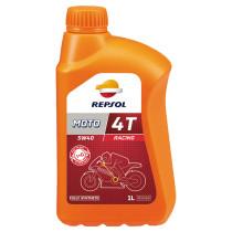 REPSOL Moto Racing 4T 5W40, 1 litra, täyssynteettinen