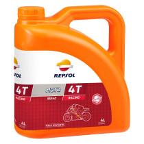 REPSOL Moto Racing 4T 5W40, 4 litraa, täyssynteettinen