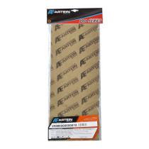 Tiivistepaperi sarja Artein Gaskets: 1x0,15+1x0,25+2x0,50 / 195 x 475mm 120 °C