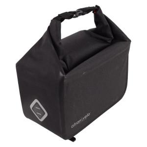 Top Bag ATRAN Travel, laukku tavaratelineen päälle, vedenpitävä, 10,5l, harmaa/m