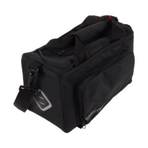 Top Bag ATRAN Zap, laukku tavaratelineen päälle, 10,5l + 8l, musta, AVS